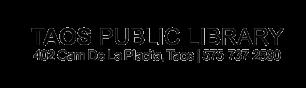 Taos Library Logo